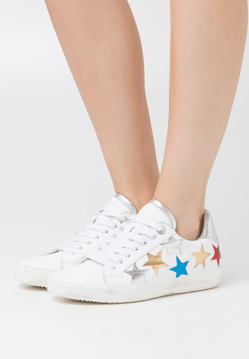 Zadig & Voltaire - ZADIG USED STAR - Tenisky - blanc