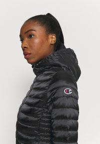 Champion - HOODED JACKET - Winter jacket - black - 3