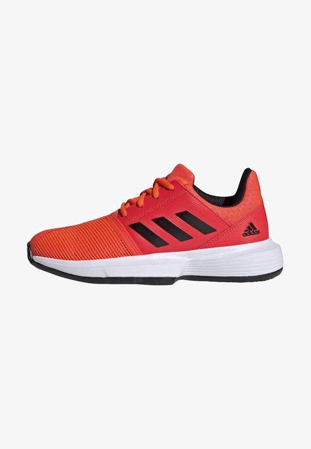 COURTJAM - Chaussures de tennis pour terre-battueerre battue - orange