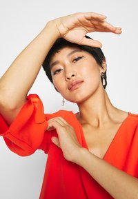 Esprit Collection - DRESS - Denní šaty - red orange - 4