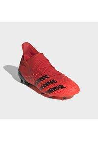 adidas Performance - PREDATOR FREAK .1 FG UNISEX - Moulded stud football boots - red - 1