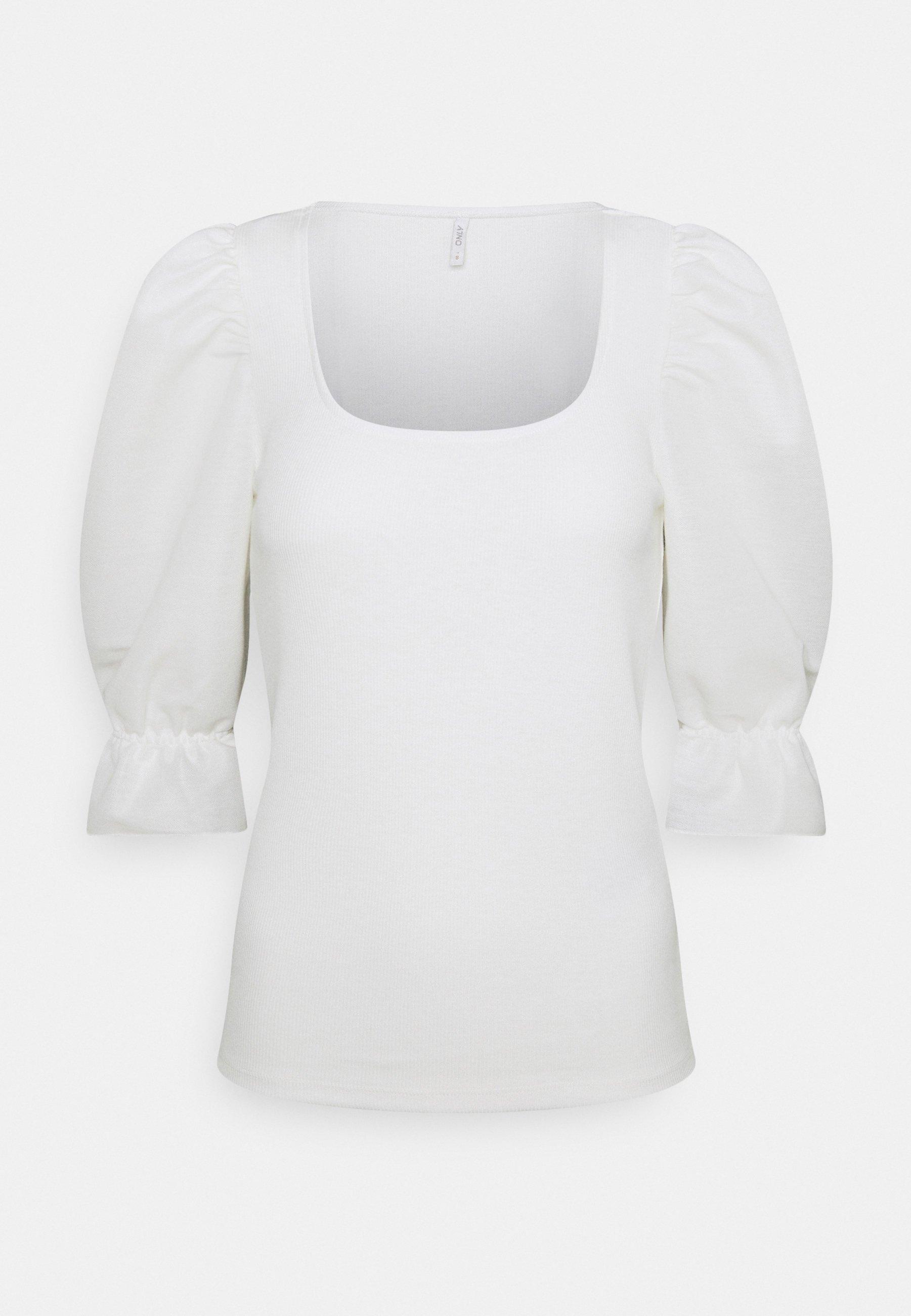 Women ONLMILA MIX PUFF - Print T-shirt