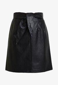 Aaiko - PATIA - A-line skirt - black - 3
