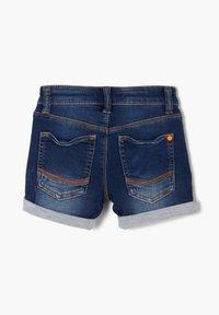 s.Oliver - BERMUDA  - Denim shorts - blue - 1