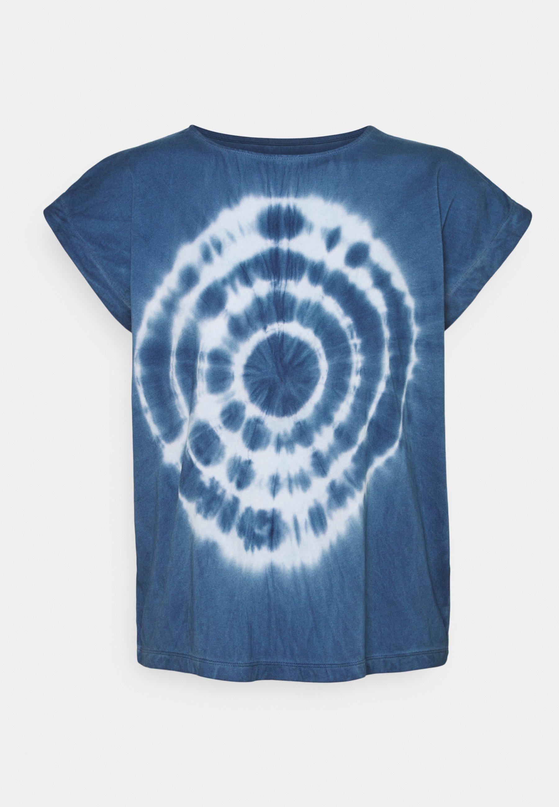 Damen IRONWOOD SQUARE TEE TIE DYE  - T-Shirt print