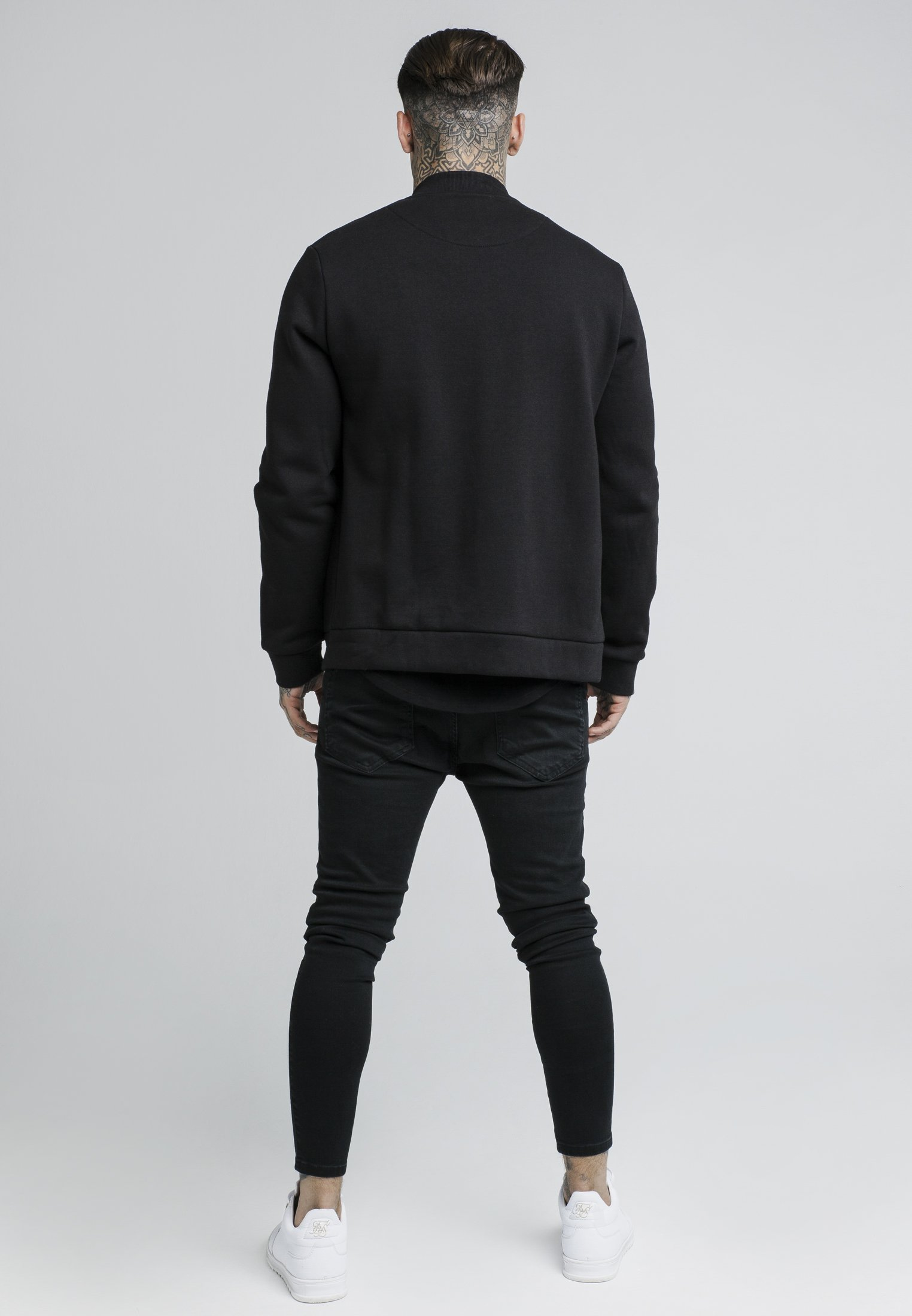 Siksilk Hettejakke - Black/svart