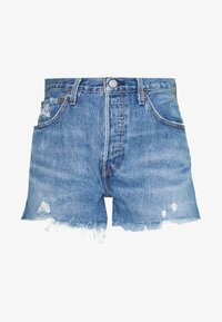 501® ORIGINAL - Denim shorts - athens mid short