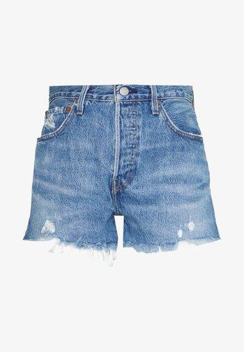 501® ORIGINAL - Short en jean - athens mid short