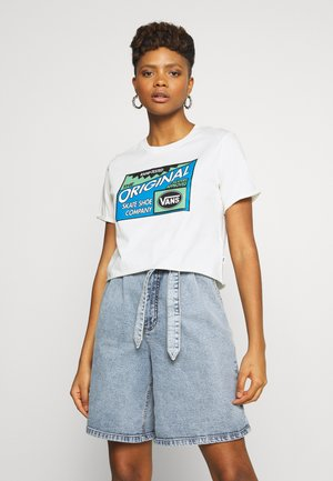 RAMP TESTED ROLL OUT TEE - Print T-shirt - marshmallow