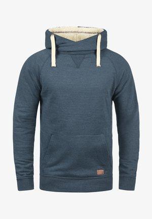 SALES TEDDY - Felpa con cappuccio - ensign blu