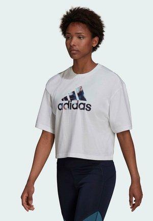 W UFORU T - Camiseta estampada - white
