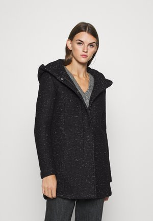 ONLNEWSEDONA COAT - Short coat - black melange