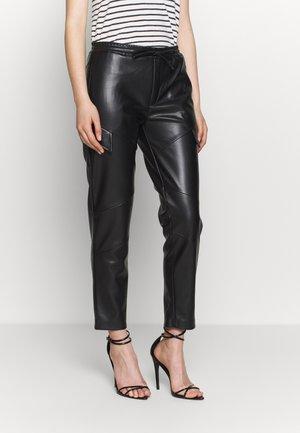 PANTS MOONLESS - Trousers - black