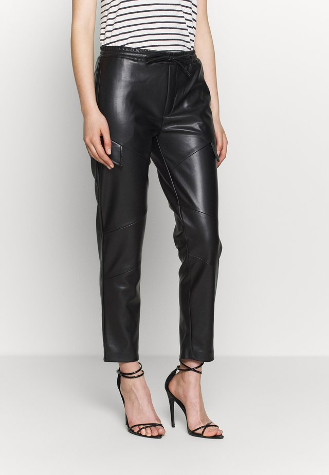 PANTS MOONLESS - Trousers - black