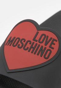 Love Moschino - Pantofle - nero - 6