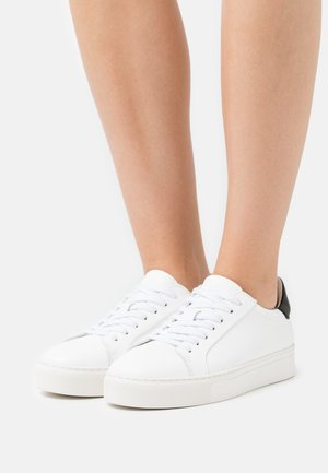 SLFDONNA NEW CONTRAST TRAINER - Trainers - white