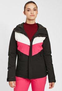 O'Neill - APLITE - Snowboard jacket - black out - 0