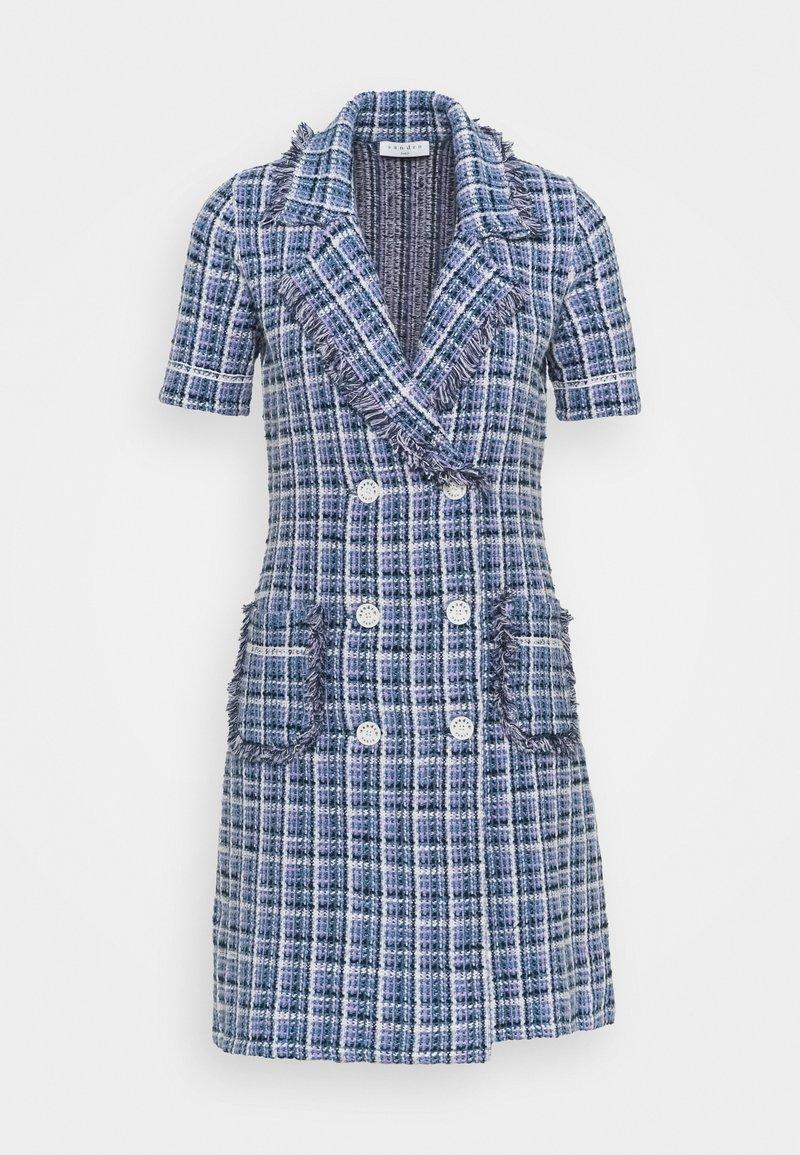 sandro - LUDIVINE - Day dress - bleu