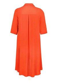 Live Unlimited London - BURNT  - Shirt dress - orange - 3