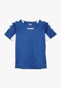 Hummel - Print T-shirt - true blue - 0
