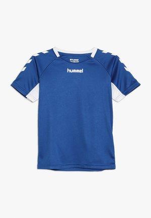 T-shirt print - true blue