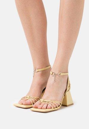 CACTUS - Sandals - light yellow