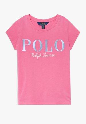 T-shirt print - baja pink