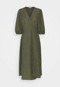 Minimum - ELMINA - Day dress - dark olive - 5