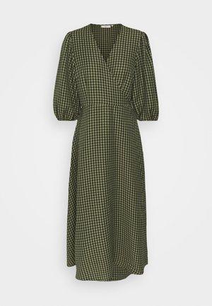ELMINA - Day dress - dark olive