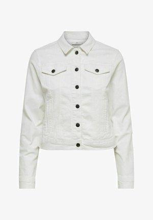 JDYNEWWINNER JACKET BOX - Denim jacket - white denim