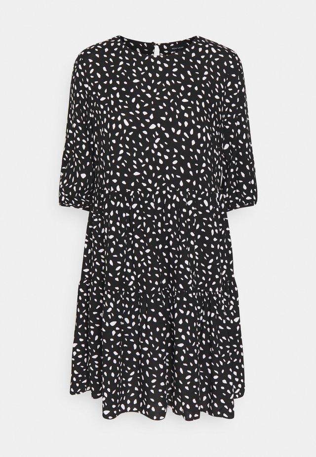 MONO TIER - Day dress - black