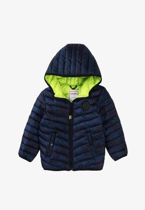 LIGHT - Winter jacket - dark blue camo