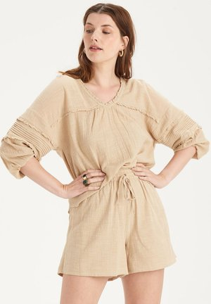 MAY BLOUSE - Camicetta - brown