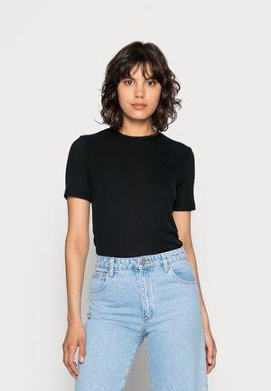 MONA TEE - Camiseta básica - black