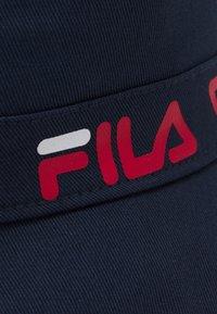 Fila - TAPED BUCKET HAT - Hat - black iris - 3