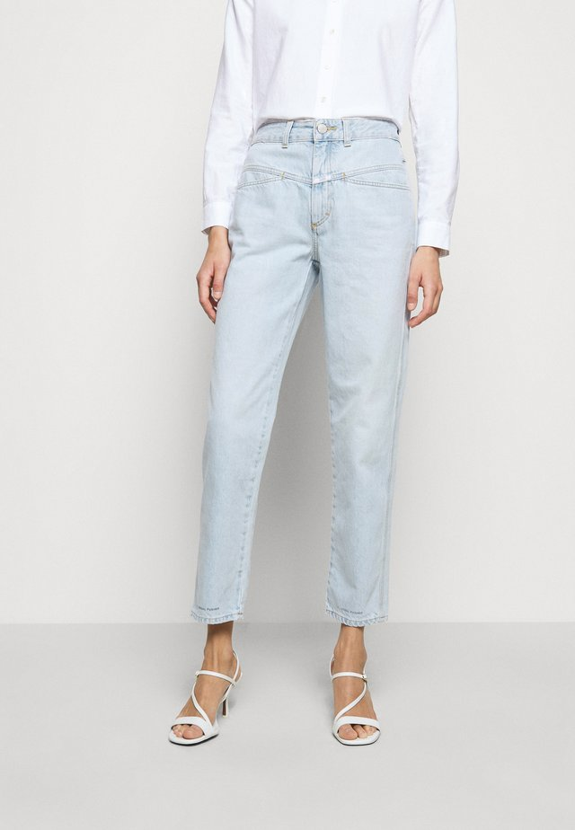 PEDAL PUSHER - Jeans Straight Leg - light blue