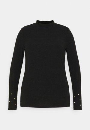 CARSARA  - Top sdlouhým rukávem - black