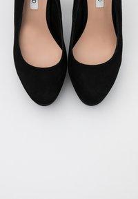 Even&Odd - LEATHER - Zapatos altos - black - 5