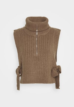 HAFJELL - Pullover - camel