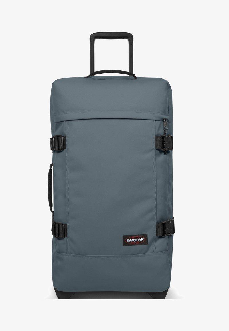 Eastpak - TRANVERZ M 2-ROLLEN TROLLEY - Wheeled suitcase - afternoon blue