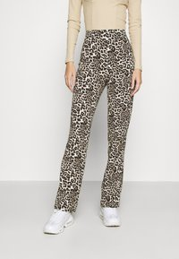 Pieces - PCDOLLY FLARED PANTS  - Trousers - carry over - 0