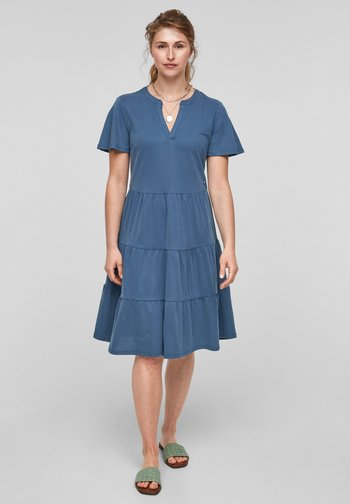 Day dress - faded blue