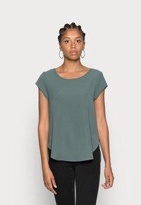 ONLY - ONLVIC SOLID  - T-shirt - bas - balsam green - 0