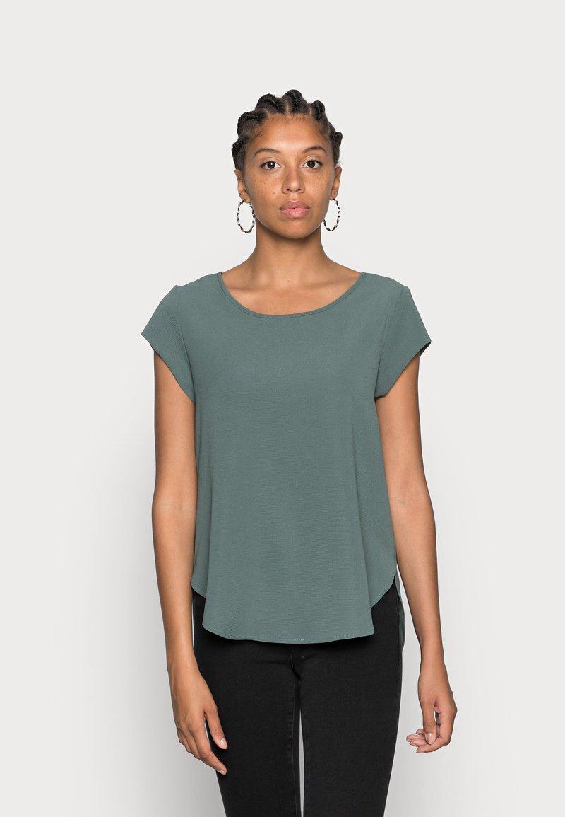 ONLY - ONLVIC SOLID  - T-shirt - bas - balsam green