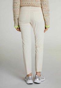 Oui - Trousers - whitecap gray - 2