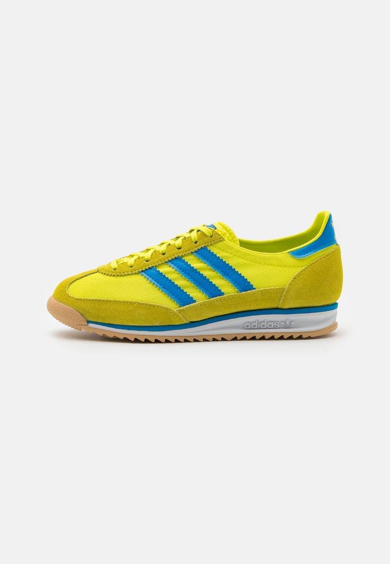 adidas Originals - SL 72 UNISEX - Sneakers - acid yellow/bright blue
