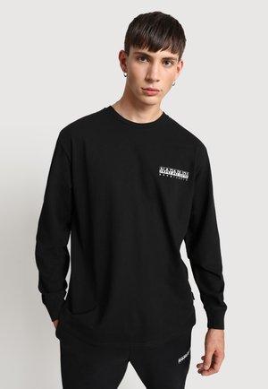 SARETINE - T-shirt à manches longues - black