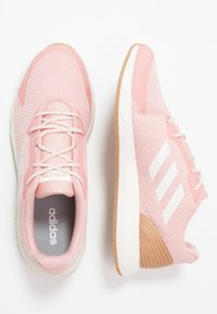 adidas Performance - SOORAJ - Neutral running shoes - pink spice/clear white/tagome - 1