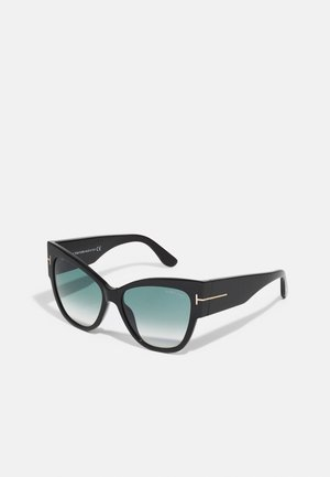 Sunglasses - shiny black/ gradient smoke