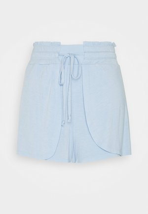 DOUBLE LAYER PETAL HEM SHORT - Sports shorts - baby blue